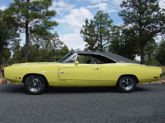 1970 DODGE CHARGER R/T 2 DOOR HARDTOP - Side Profile - 44488