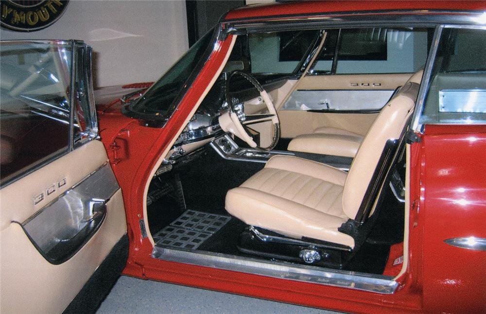 1960 CHRYSLER 300F HARDTOP - Interior - 44542