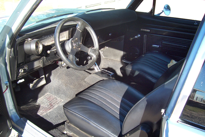 1972 CHEVROLET NOVA CUSTOM 2 DOOR HARDTOP - Interior - 44545