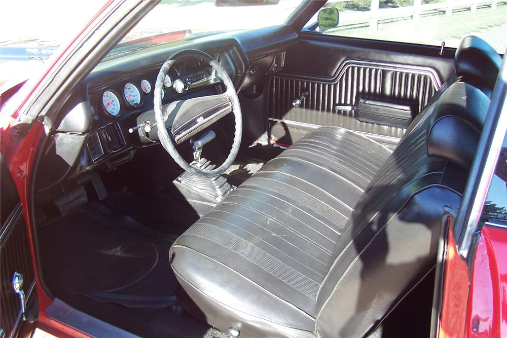 1971 CHEVROLET CHEVELLE SS 2 DOOR HARDTOP RE-CREATION - Interior - 44547