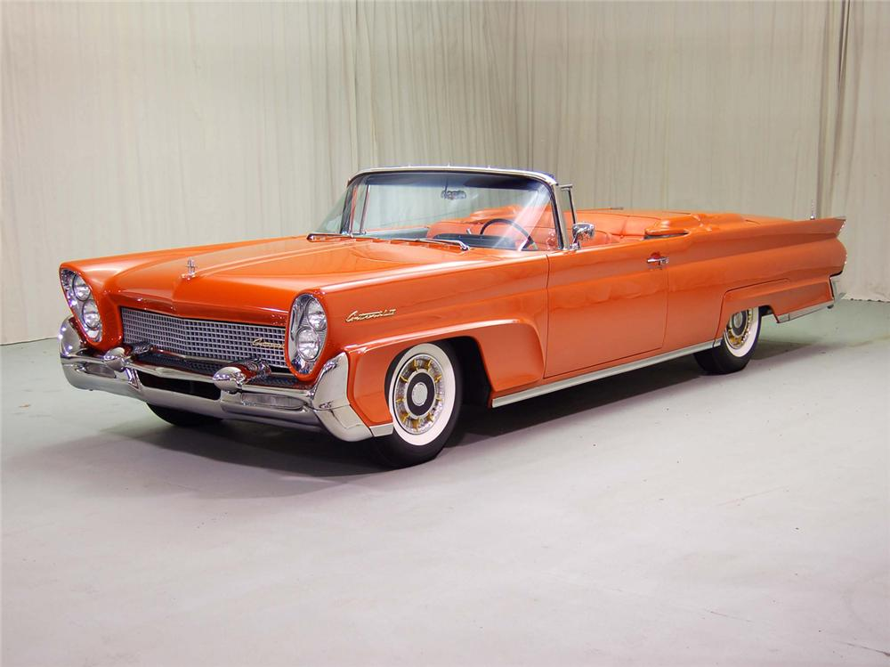 1958 LINCOLN CONTINENTAL CONVERTIBLE - Misc 1 - 44552