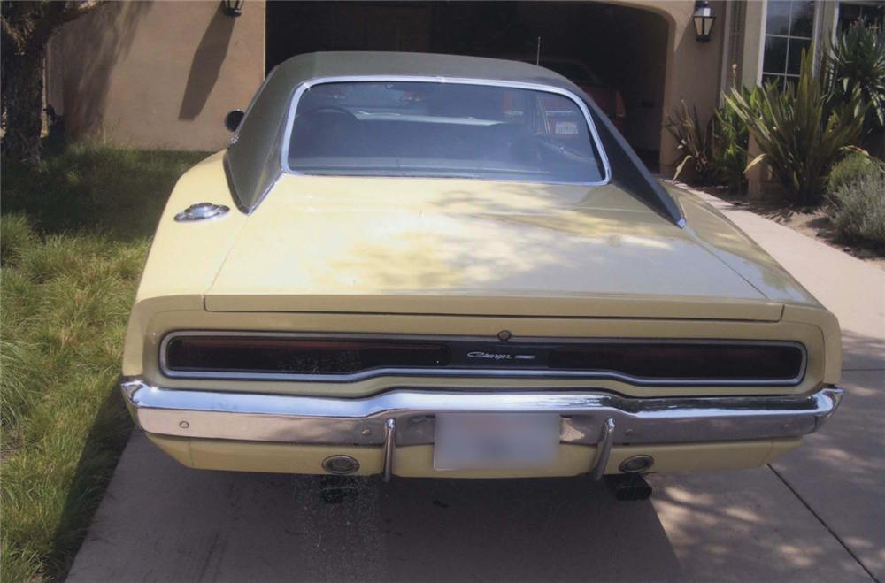 1970 DODGE CHARGER 500 SE 2 DOOR HARDTOP - Rear 3/4 - 44556