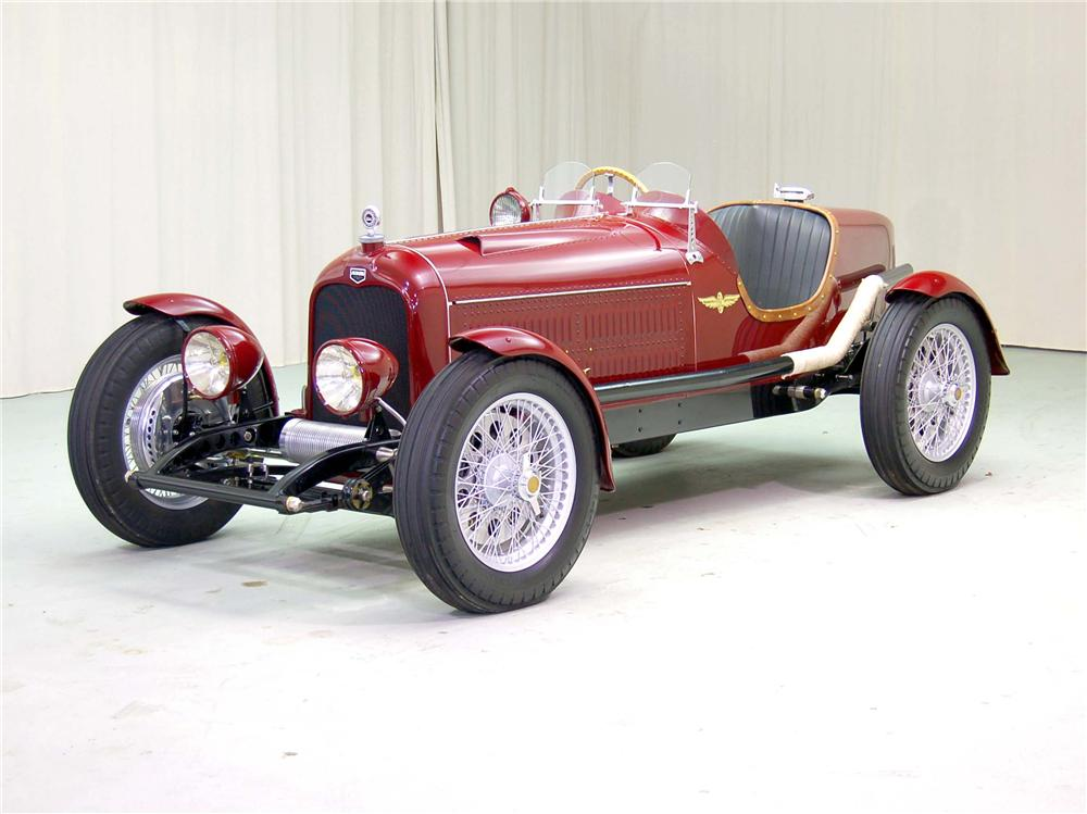 1929 AUBURN SERIES 88 RE-CREATION - Front 3/4 - 44558
