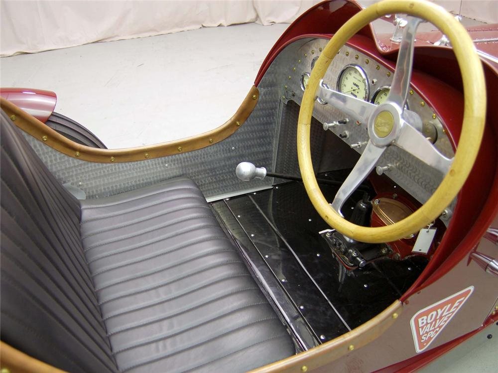 1929 AUBURN SERIES 88 RE-CREATION - Interior - 44558