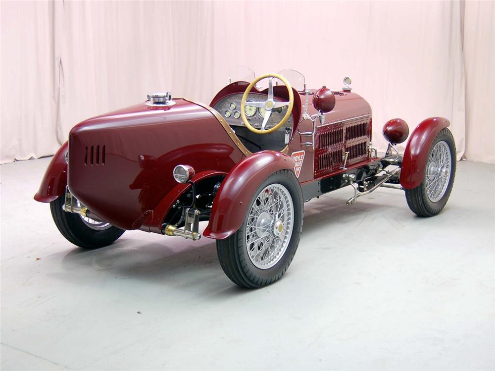 1929 AUBURN SERIES 88 RE-CREATION - Rear 3/4 - 44558