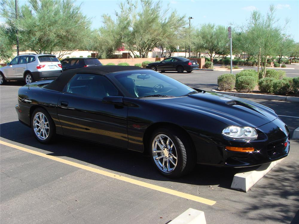 2002 CHEVROLET CAMARO Z/28 SS CONVERTIBLE - Side Profile - 44564