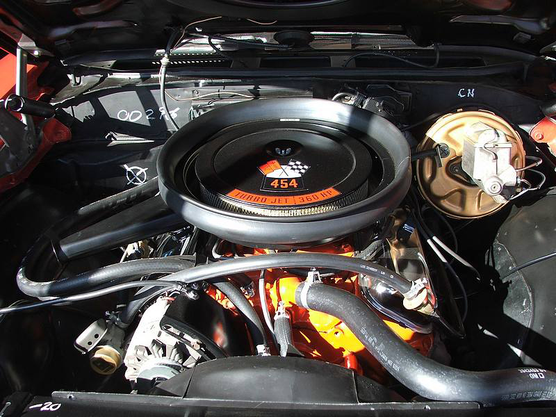 1970 CHEVROLET CHEVELLE SS CONVERTIBLE - Engine - 44568