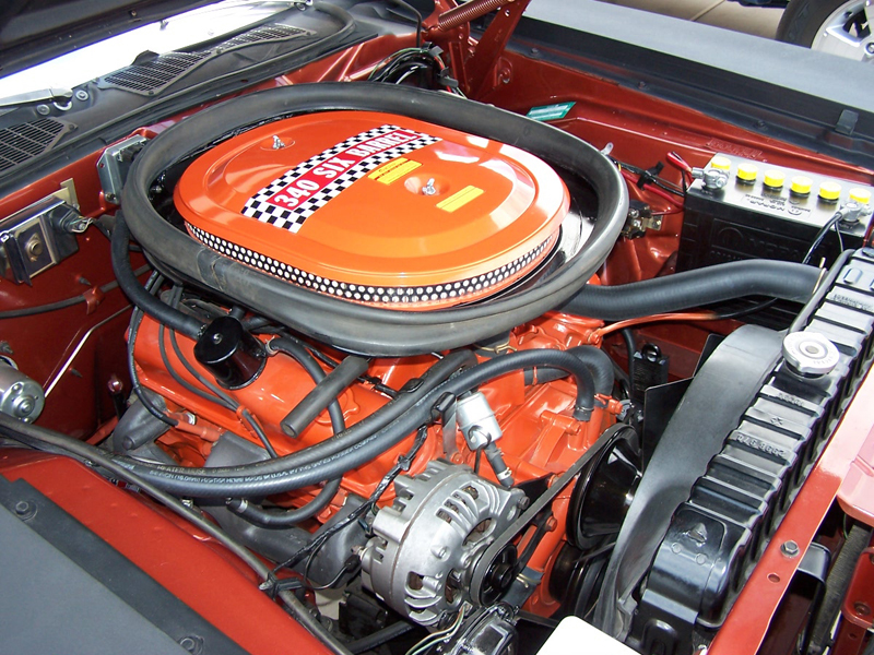 1970 PLYMOUTH CUDA AAR COUPE - Engine - 44570