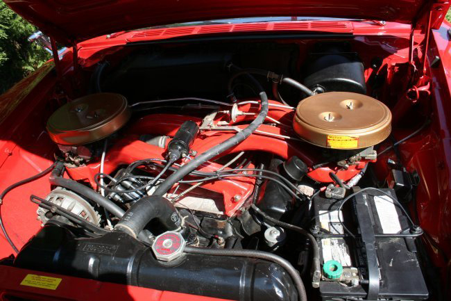 1961 CHRYSLER 300G CONVERTIBLE - Engine - 44579