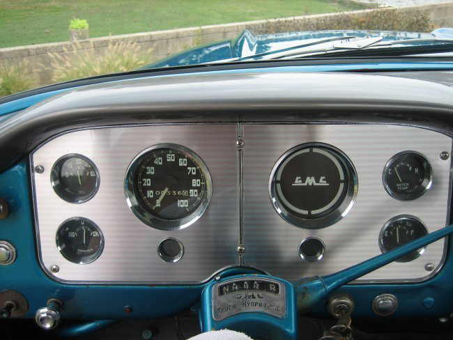 1958 GMC 100 PICKUP - Interior - 44591