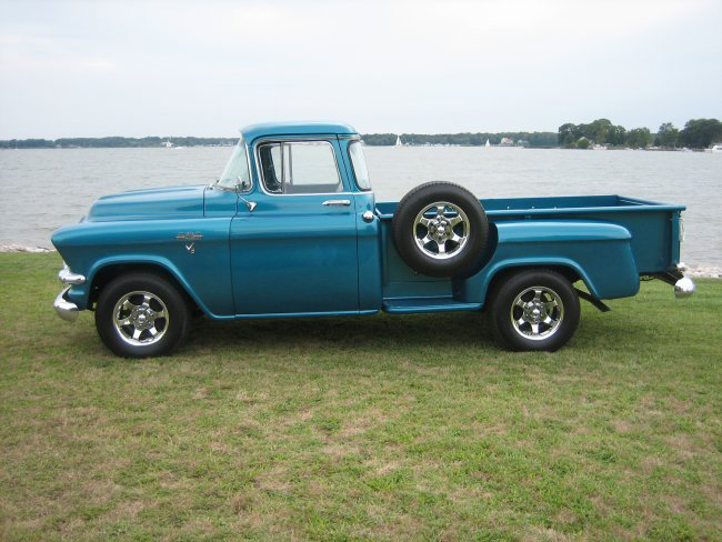 1958 GMC 100 PICKUP - Side Profile - 44591