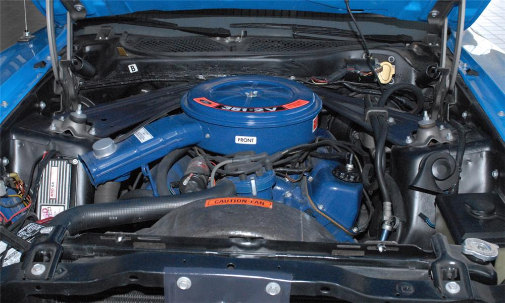 1972 FORD MUSTANG CONVERTIBLE - Engine - 44604