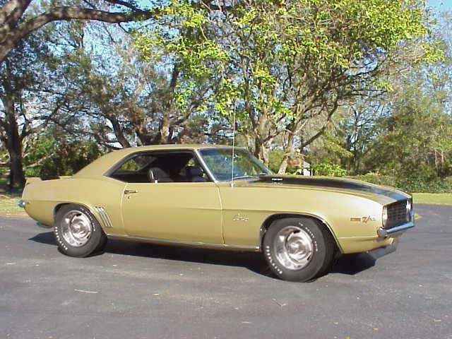 1969 CHEVROLET CAMARO Z/28 CROSS-RAM COUPE - Front 3/4 - 44654