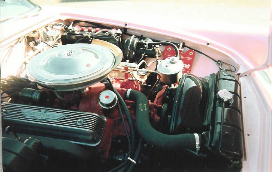 1957 FORD THUNDERBIRD CONVERTIBLE - Engine - 44658