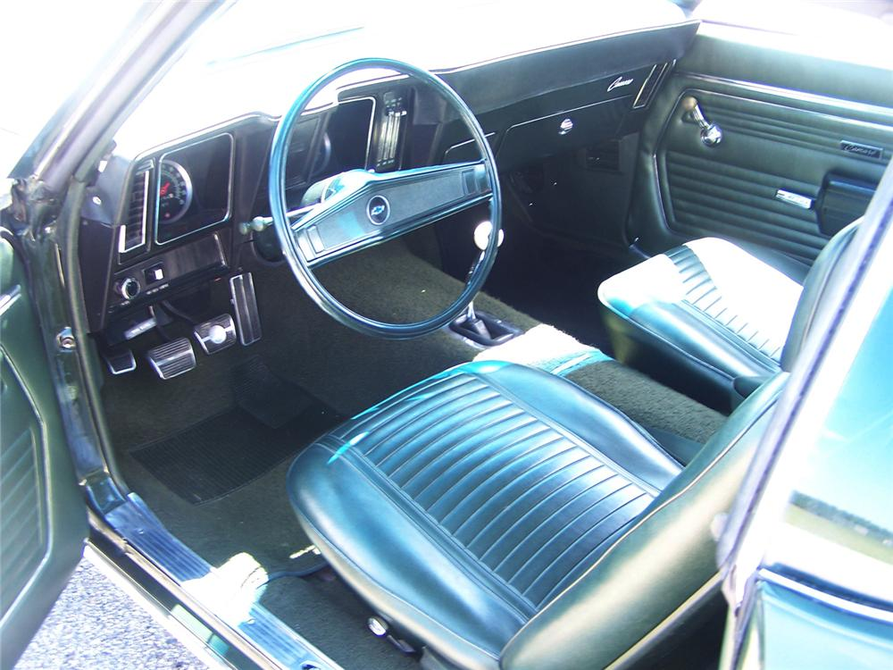 1969 CHEVROLET CAMARO Z/28 COUPE - Interior - 44670