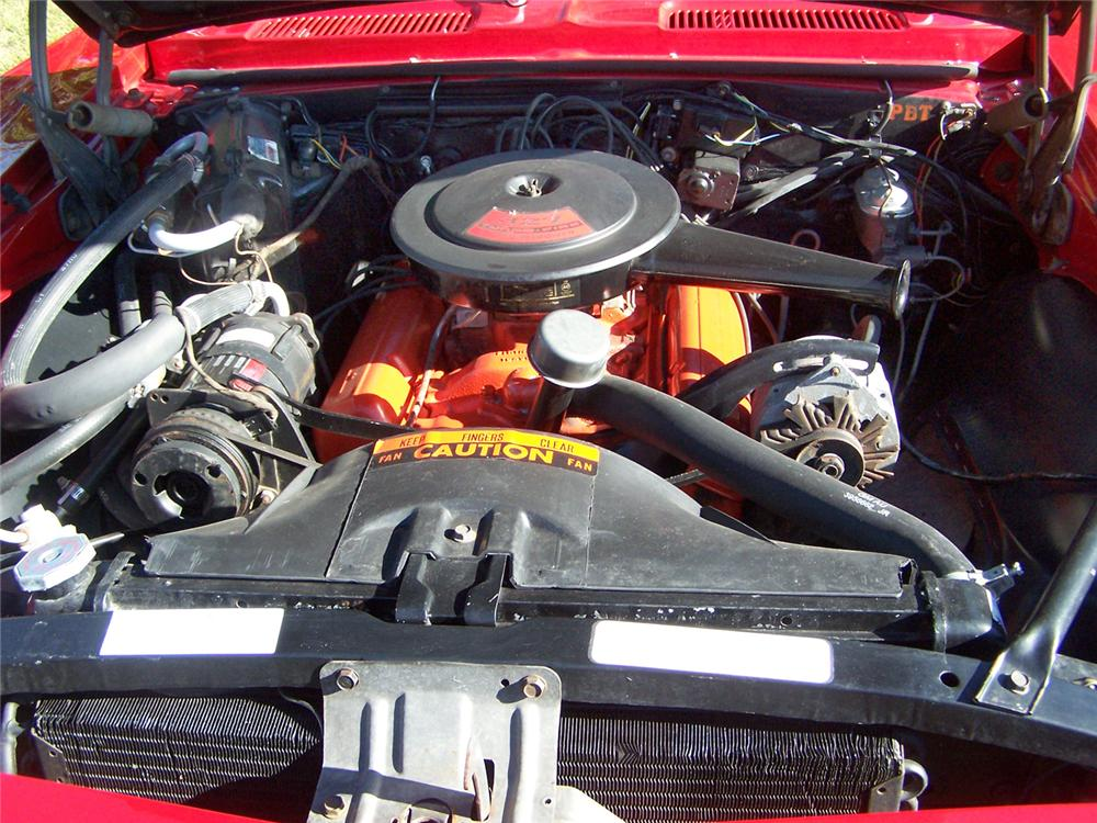 1967 CHEVROLET CAMARO RS CONVERTIBLE - Engine - 44672
