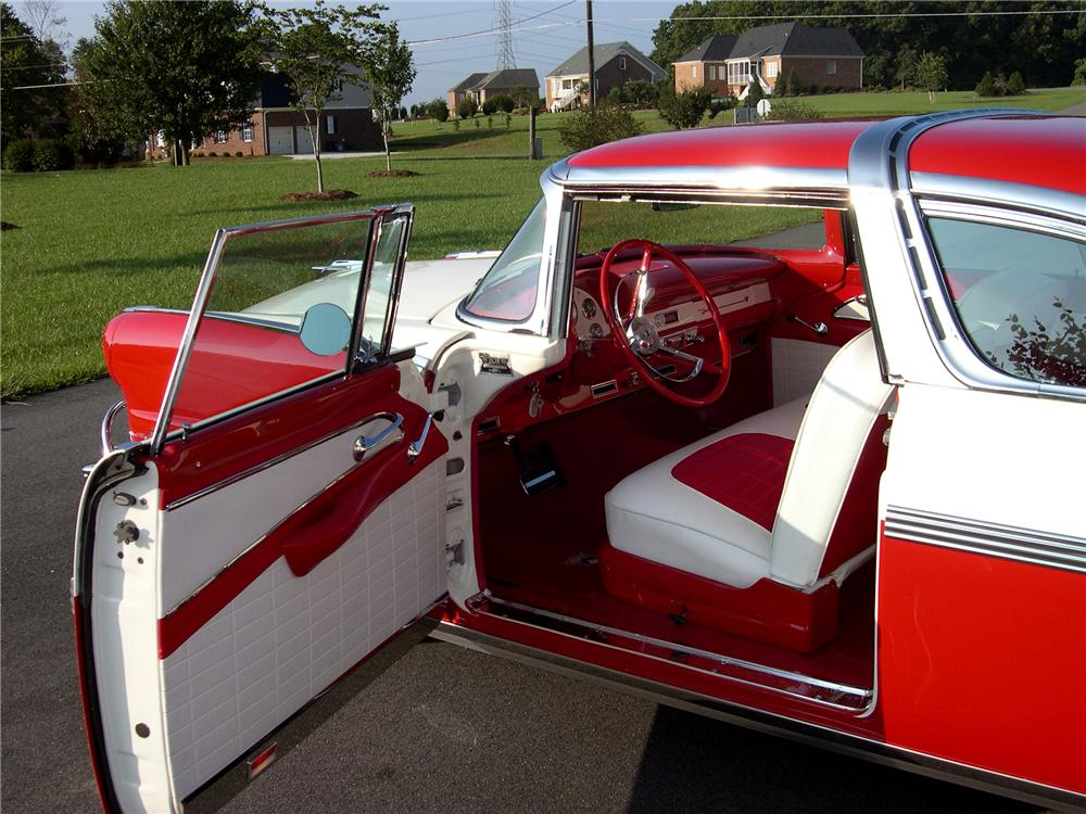 1956 Ford Crown Victoria Custom 2 Door Hardtop Car Interior Design
