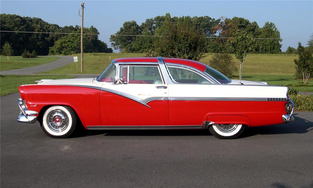 1956 ford crown victoria custom 2 door hardtop 44676 for 1956 ford crown victoria 2 door coupe