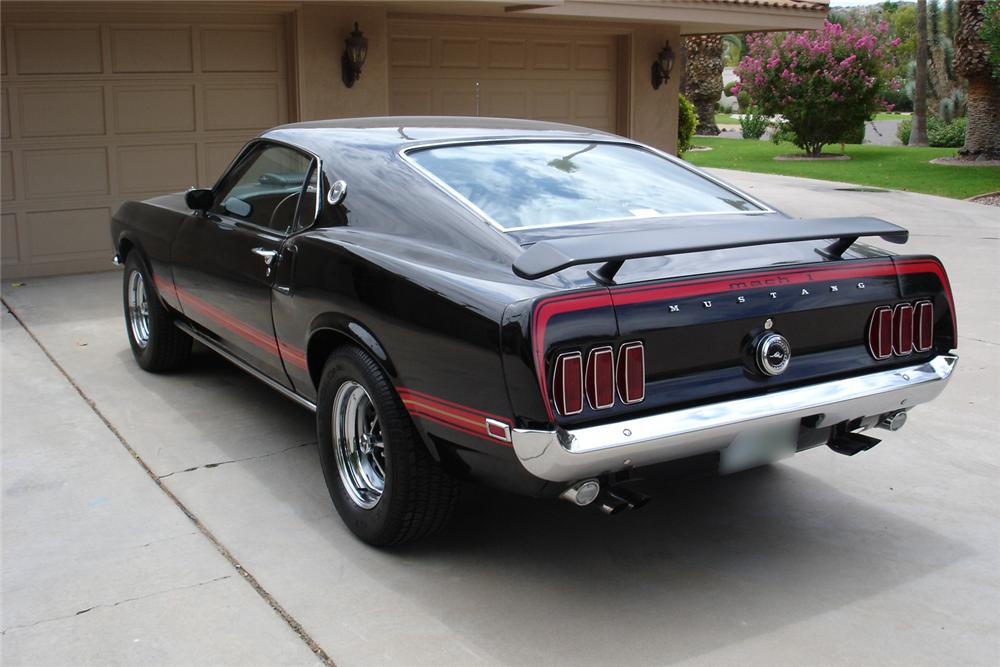 1969 FORD MUSTANG MACH 1 FASTBACK COBRA JET - Front 3/4 - 44678