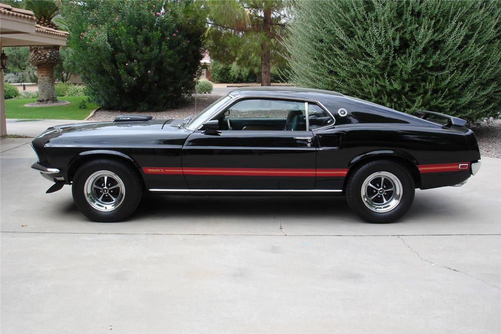 1969 ford mustang mach 1 fastback cobra jet 44678. Black Bedroom Furniture Sets. Home Design Ideas