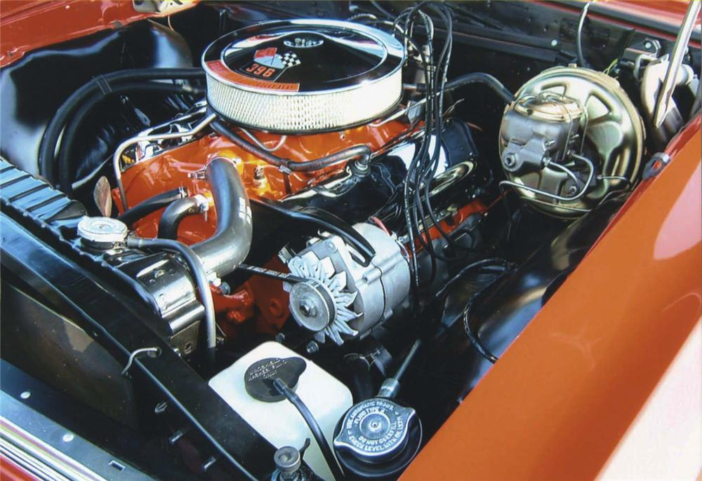 1967 CHEVROLET CHEVELLE SS 396 CONVERTIBLE - Engine - 44681