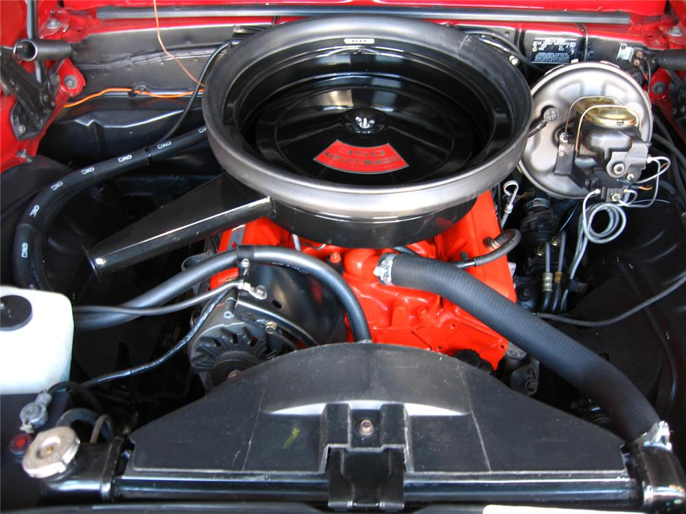 1969 CHEVROLET CAMARO RS/SS CONVERTIBLE - Engine - 44693