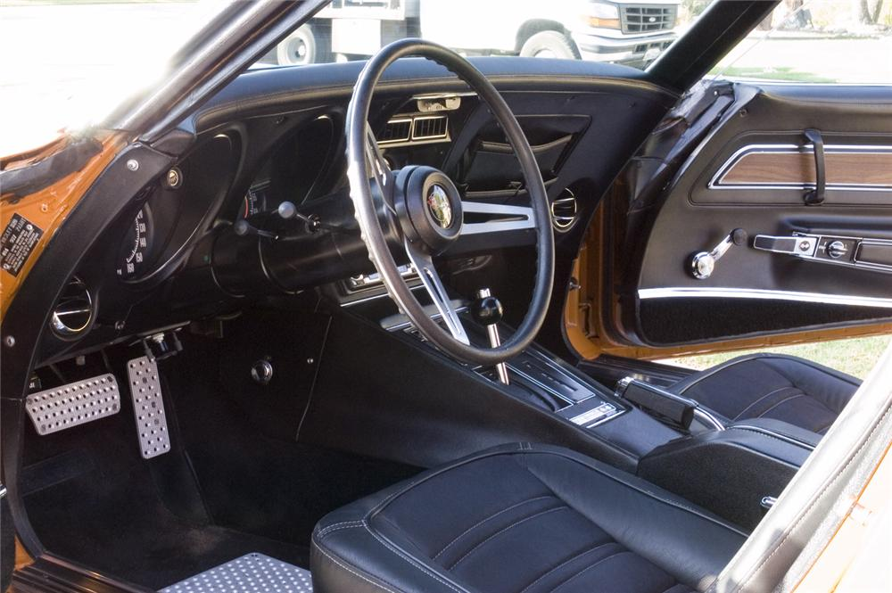1972 CHEVROLET CORVETTE CUSTOM COUPE - Interior - 44696