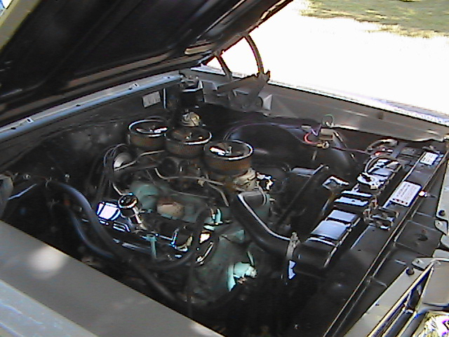 1964 PONTIAC GTO COUPE - Engine - 44698