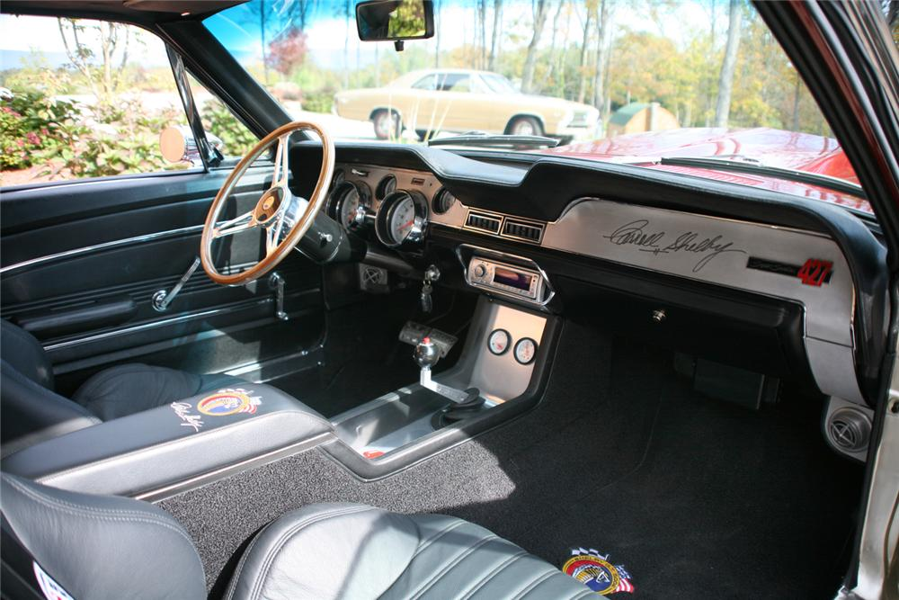 1967 SHELBY GT500 E CUSTOM FOOSE FASTBACK - Interior - 44707