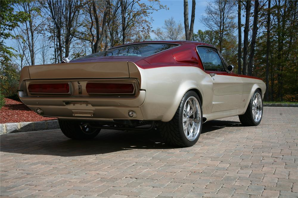 1967 SHELBY GT500 E CUSTOM FOOSE FASTBACK - Rear 3/4 - 44707