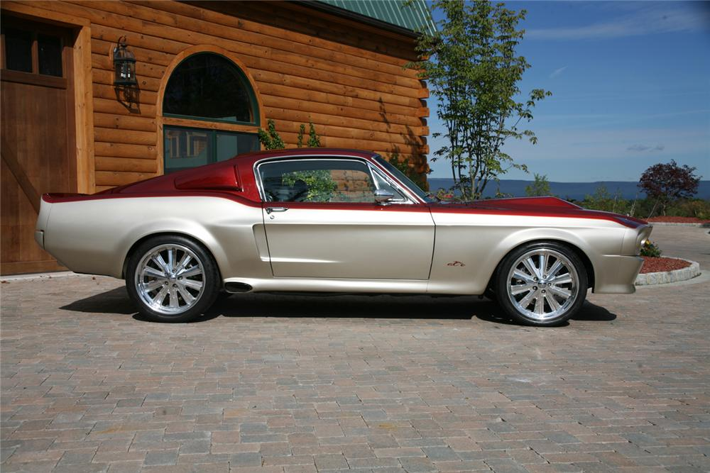 1967 SHELBY GT500 E CUSTOM FOOSE FASTBACK - Side Profile - 44707