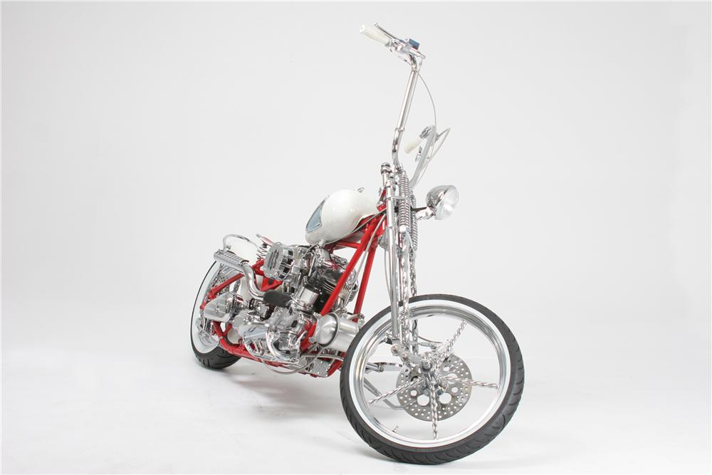 2005 OCC CORVETTE CUSTOM CHOPPER - Front 3/4 - 44710