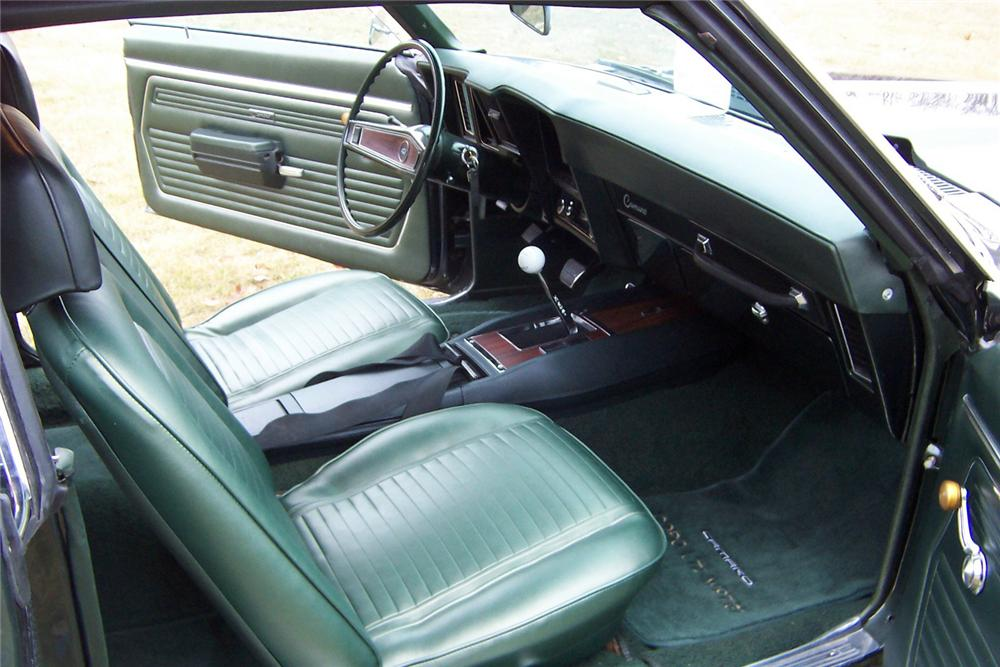 1969 CHEVROLET CAMARO COPO COUPE - Interior - 44737