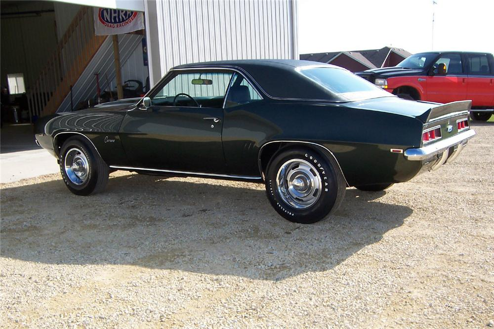 1969 CHEVROLET CAMARO COPO COUPE - Side Profile - 44737