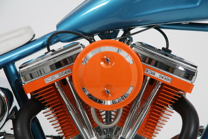 2007 OCC HEMI CHARGER CUSTOM CHOPPER - Engine - 44738