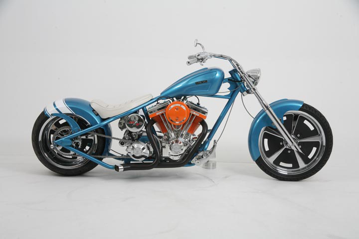 2007 OCC HEMI CHARGER CUSTOM CHOPPER - Side Profile - 44738