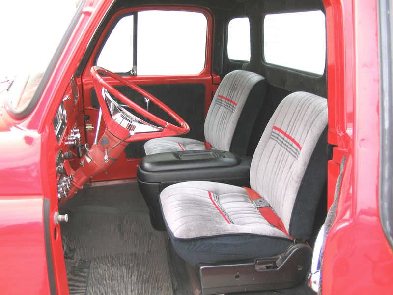 1954 DODGE CUSTOM STEP SIDE PICKUP - Interior - 44749