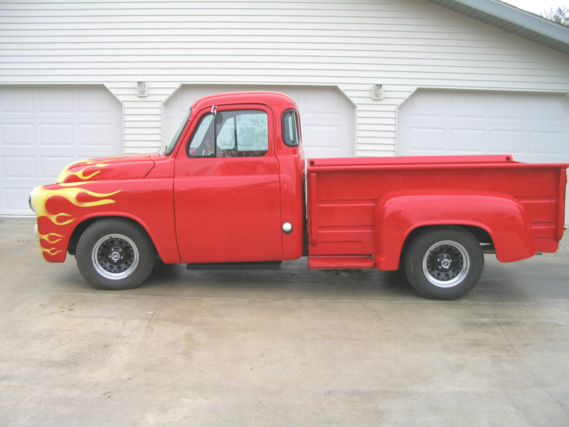 1954 DODGE CUSTOM STEP SIDE PICKUP - Side Profile - 44749