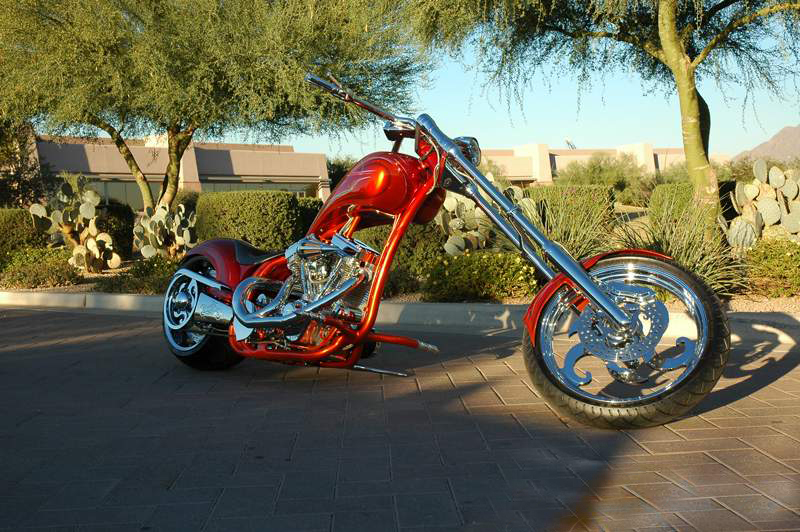 2005 SPECIAL CONSTRUCTION CUSTOM CHOPPER - Front 3/4 - 44765
