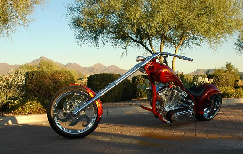 2005 SPECIAL CONSTRUCTION CUSTOM CHOPPER - Side Profile - 44765