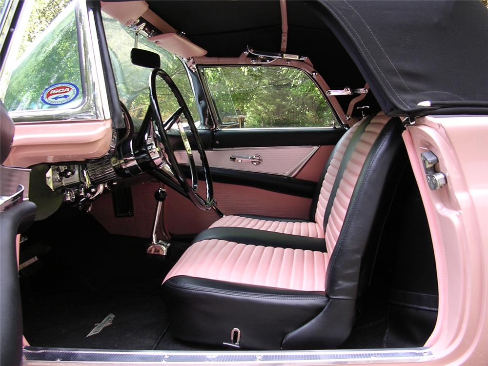 1957 FORD THUNDERBIRD CONVERTIBLE - Interior - 44767