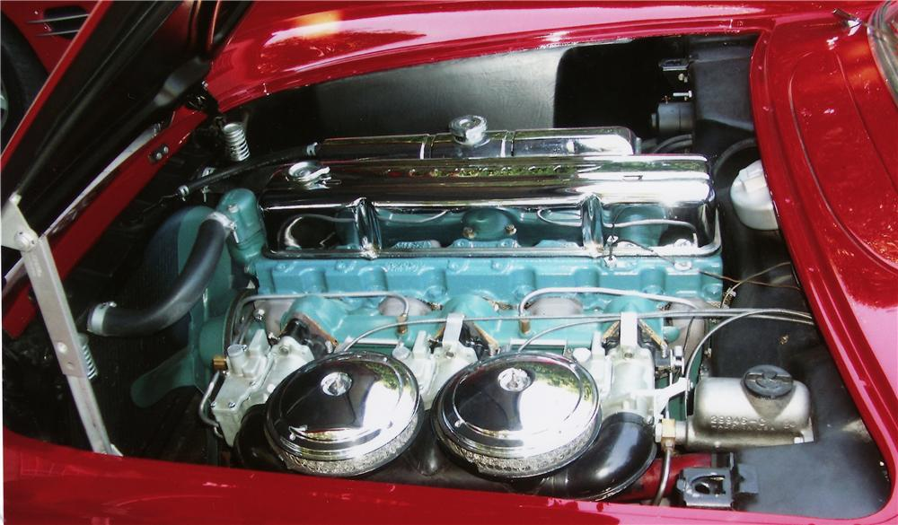 1954 CHEVROLET CORVETTE CONVERTIBLE - Engine - 44771