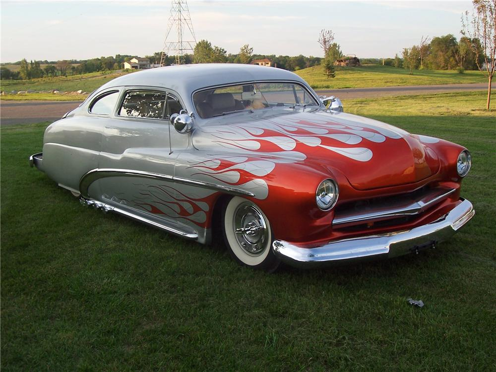 1949 MERCURY CUSTOM LED-SLED 2 DOOR HARDTOP - Front 3/4 - 44775