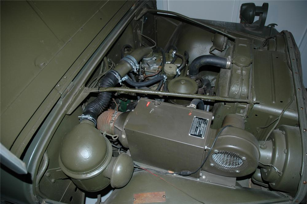 1954 JEEP M138A MILITARY 2 DOOR UTILITY - Engine - 44778