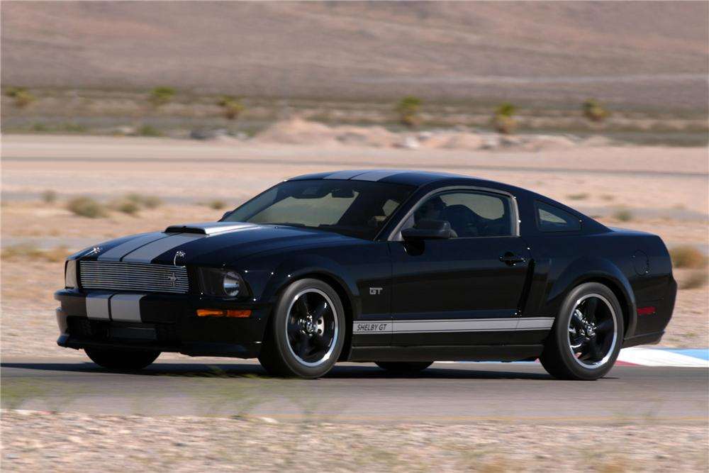 """2007 SHELBY GT FASTBACK """"SERIAL #001"""" - Front 3/4 - 44790"""