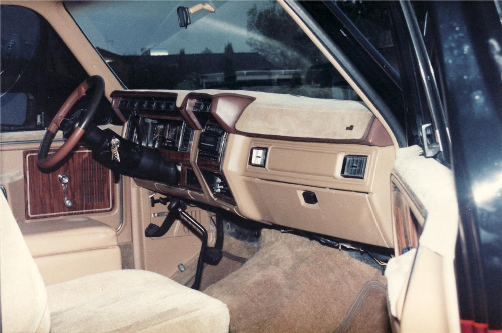1981 Ford Bronco Interior 1981 Ford Bronco Custom 4x4
