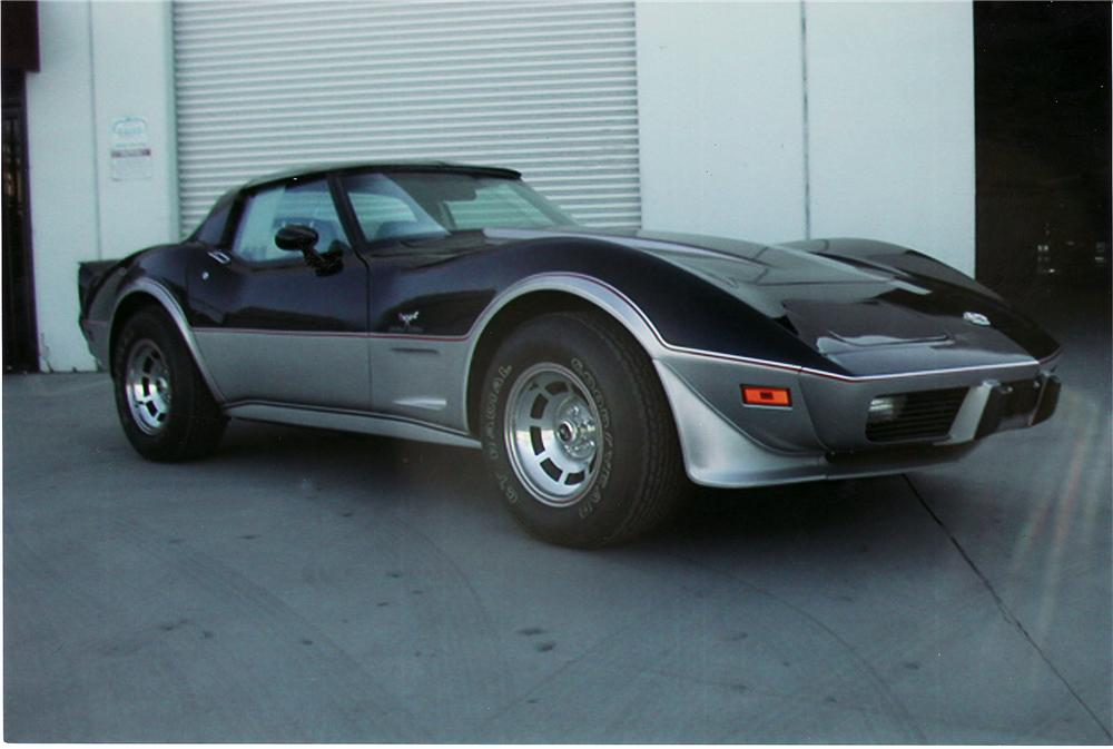 1978 CHEVROLET CORVETTE PACE CAR - Front 3/4 - 44797