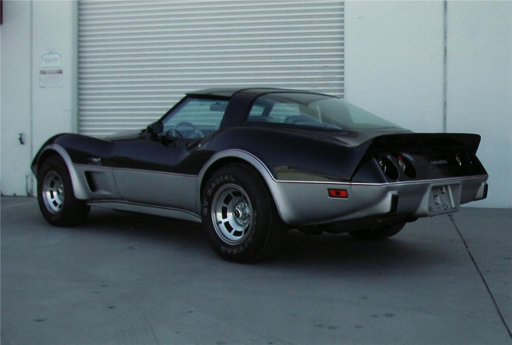 1978 CHEVROLET CORVETTE PACE CAR - Rear 3/4 - 44797
