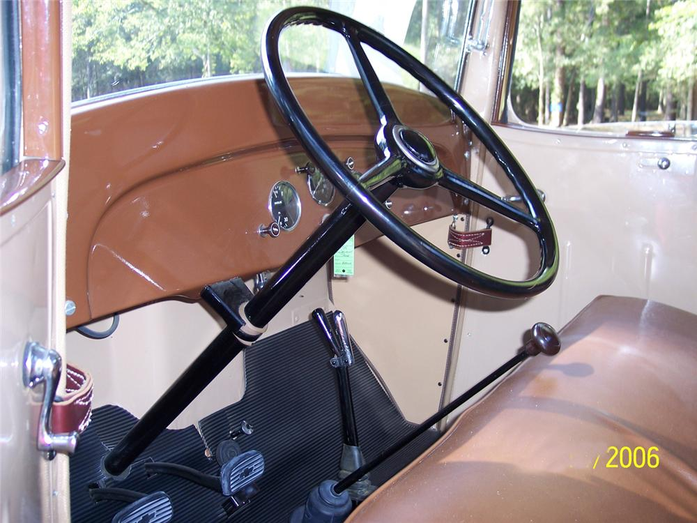 1934 CHEVROLET SHORT BED PICKUP - Interior - 44834
