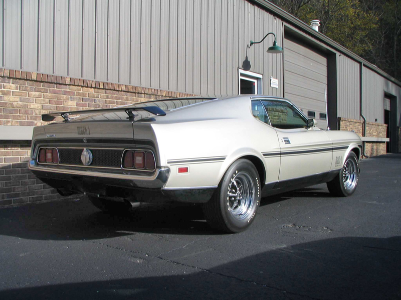 O Meara Ford >> 1971 FORD MUSTANG MACH 1 FASTBACK - 44837